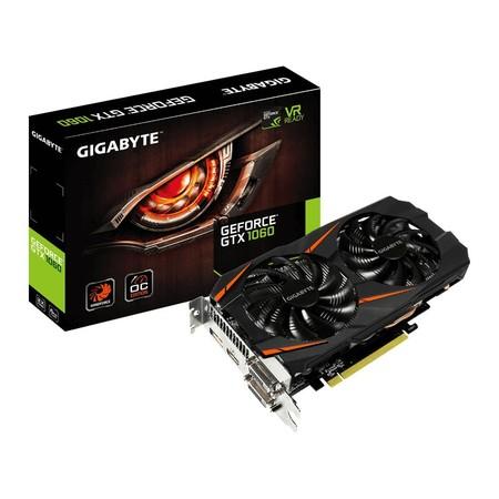 Tarjeta gráfica Gigabyte Nvidia GeForce GTX1060 WF OC de 6GB a su precio más bajo en Amazon: 269,90 euros