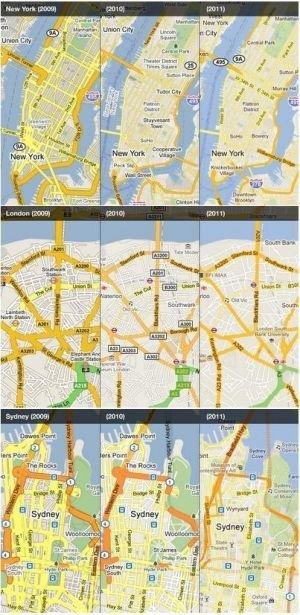 La mejoras de Google Maps