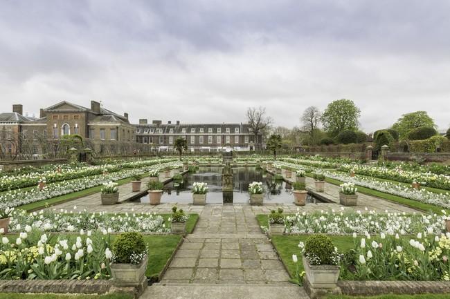 Inauguran un jardín en memoria de Lady Di en Kensington Palace