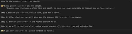 Proceso Resenas Falsas Productos Amazon