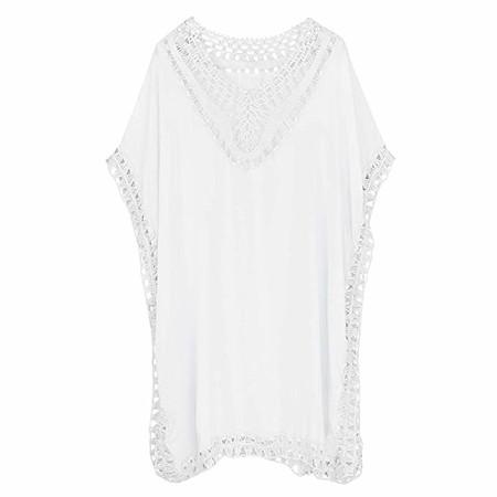 vestido blanco playa