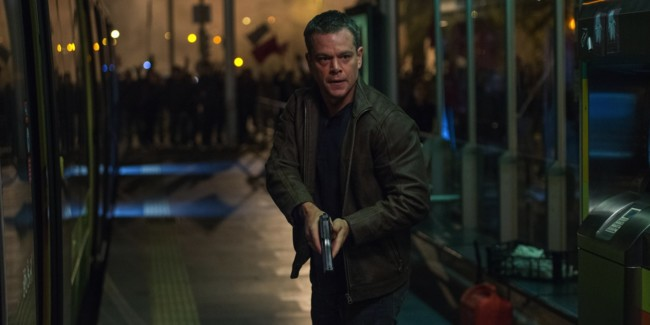 Matt Damon regresa a ser Jason Bourne