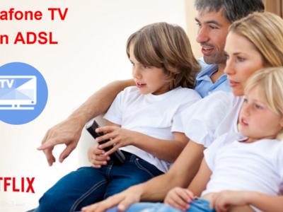 El nuevo decodificador para la televisión de Vodafone en ADSL llega con cuatro canales en 4K