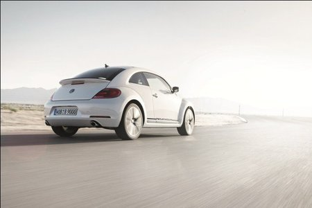 Volkswagen Beetle Turbo White