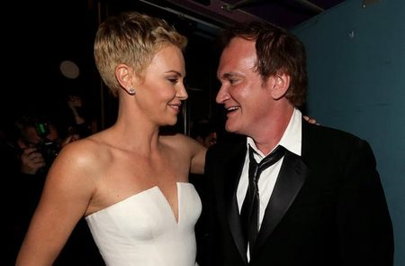 Charlize Theron y Quentin Tarantino