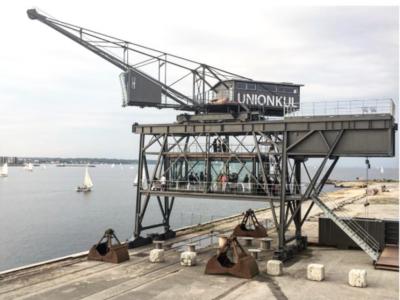 The Krane: dormir dentro de una grua del puerto de Copenhaguen