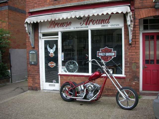 Tienda Harley Davidson