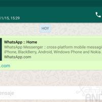 WhatsApp para Android añade a todo el mundo la vista previa de enlaces, mensajes destacados y más