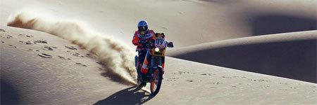 El gobierno francés pone en peligro la disputa del Dakar 2008