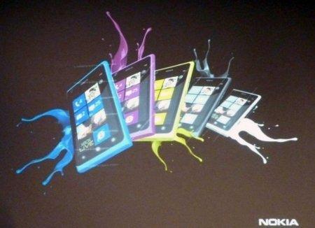 ¿Nuevos colores para el Nokia Lumia 800?