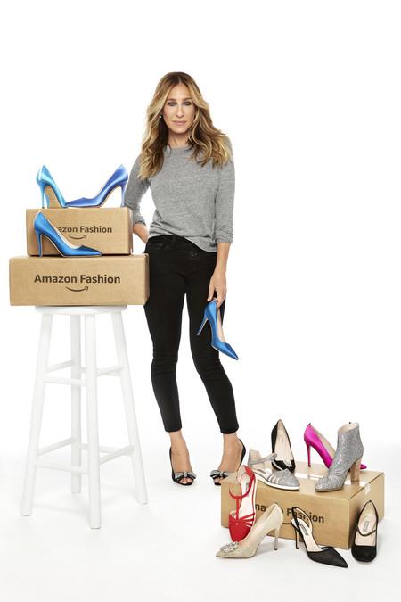 Esta es la colección completa de zapatos diseñados por Sarah Jessica Parker para Amazon