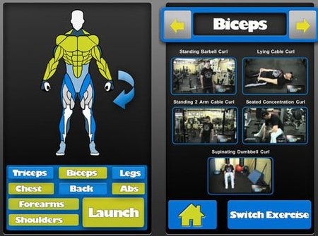 Gym Genie, aplicación para iPhone y Android