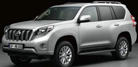 Toyota Land Cruiser, lavado de cara filtrado y a la vista