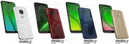 Moto G7 Familia Filtracion