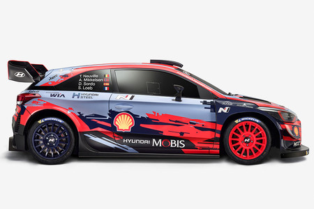 Hyundai i20 WRC lateral