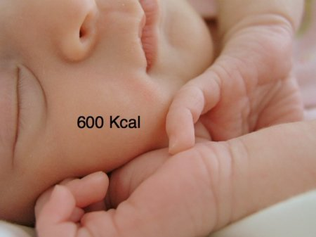 Solución a la adivinanza: durmiendo ocho horas se queman 600 kilocalorías
