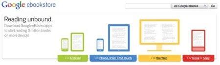 Presentan Google eBooks con aplicaciones para Android y iOS