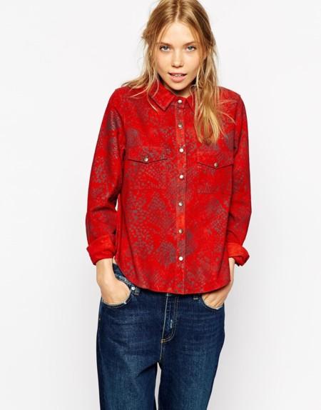 Camisa de Ganni