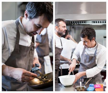 Javier Olleros En Su Cocina