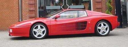 "Chris Harris le da ""cera"" esta vez al Ferrari 512 TR"