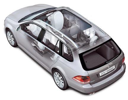 Volkswagen Golf Variant - Airbags