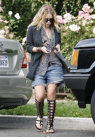 Mary Kate Olsen tiene un mal día  ¿o no?