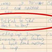 ¿Cuál fue la primera palabra que se transmitió por internet hace 48 años?