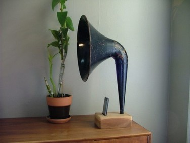 iPhone Gramophone de Matt Richmond, regreso al futuro