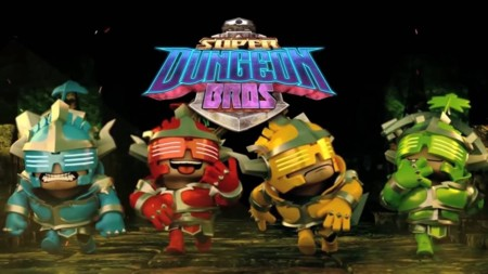 Super Dungeon Bros. llegará con su divertido cooperativo y mucho rock and roll en noviembre
