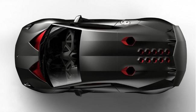 Lamborghini Sesto Elemento Concept, París 2010
