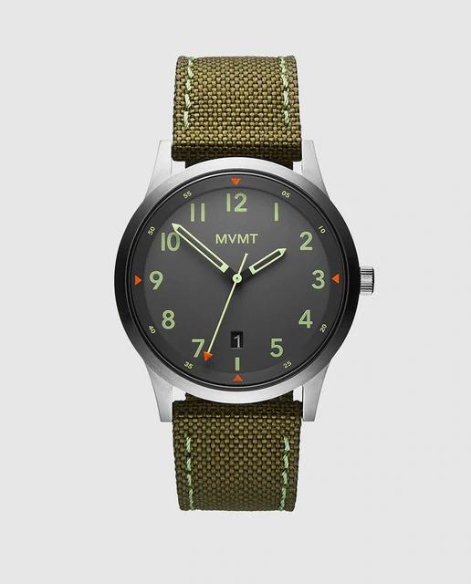 Reloj de hombre MVMT 28000014-D de nailon verde