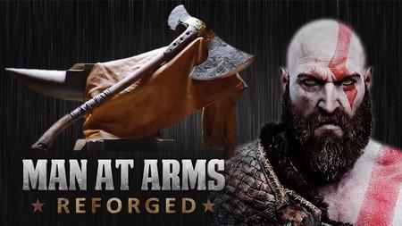 Así se forjó el hacha que Kratos blandirá en el nuevo God of War