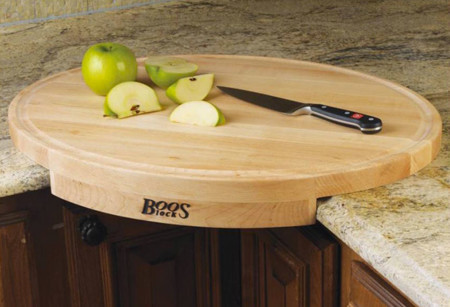 Perfecta tabla de cortar para esquinas