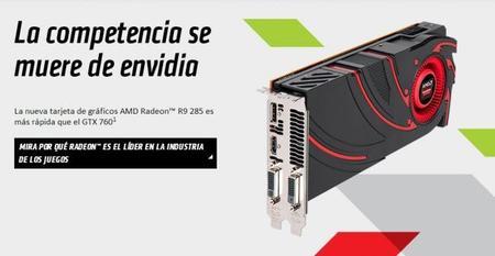 """AMD hace oficial Radeon R9 285 """"Tonga Pro"""" por 249 dólares"""