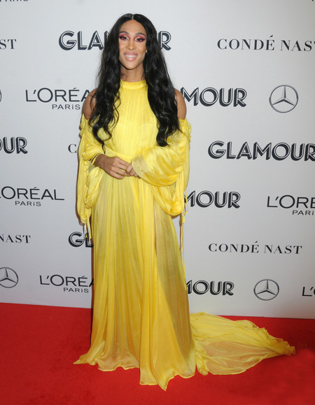 Mj Rodriguez red carpet glamour women