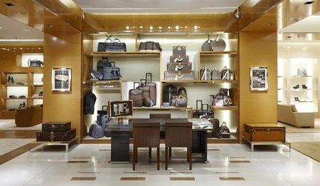 Re-inauguración de la boutique de Louis Vuitton en el centro comercial de Castellana