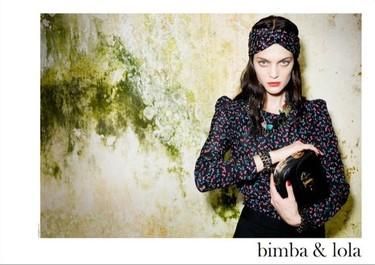 Campaña Bimba & Lola Otoño-Invierno 2010/2011 con una espectacular Marina Pérez