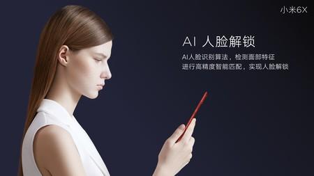 Inteligencia artificial en el Xiaomi Mi 6X