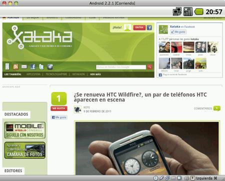 Máquina Virtual de Android-x86