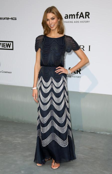 Karlie Kloss amfar Cannes 2014