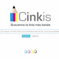 Cinkis, el Google español para comparar precios de tinta para impresoras