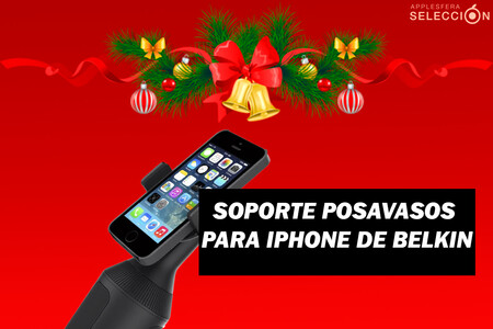 El soporte para posavasos del coche de Belkin compatible con iPhone 12 está rebajadísimo a 17,19 euros en Amazon