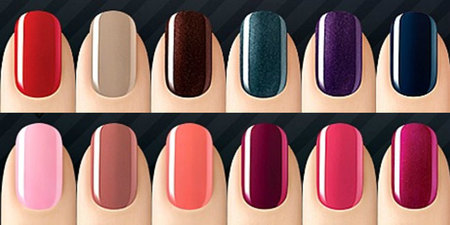 Colores de SensatioNail permanente