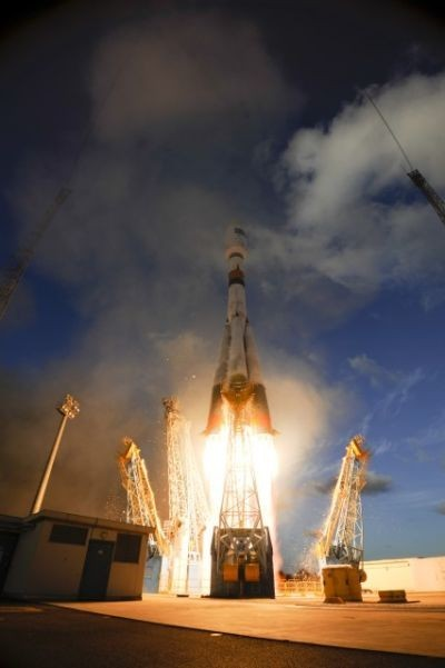 [Vídeo] Cámara de a bordo ofrece una perspectiva única del lanzamiento de un cohete Soyuz