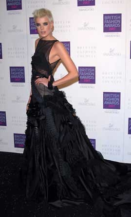 El estilo de los British Fashion Awards 2007