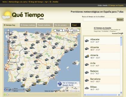 Qué tiempo: la previsión meteorológica para España