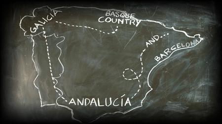 Un road trip por la gastronomía española en tres minutos