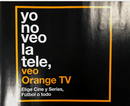 Yo No Veo La Tele Veo Orange Tv