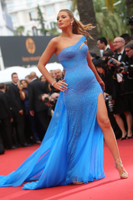 Blake Lively En Cannes Versace
