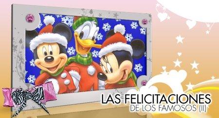 Más y más felicitaciones navideñas de los famosos, ¡¡esto es un no parar!!